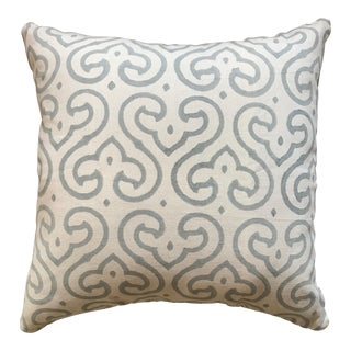 Block Print Madeline Weinrib Pillow