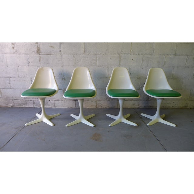 Mid Century ModernTulip Dining Chairs by Burke - Image 4 of 5