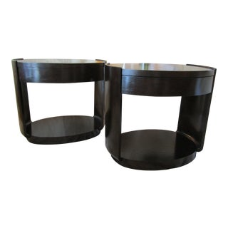 Barbara Barry for McGuire Side Table - a Pair