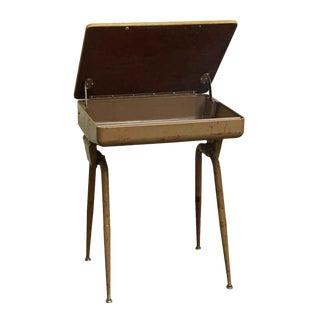 Mid-Century Modern School Desk