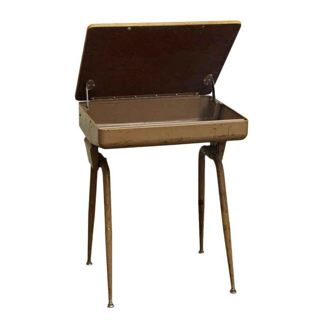 Mid-Century Modern School Desk - Image 1 of 7