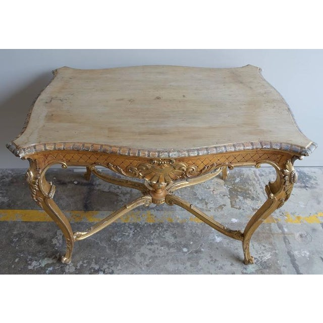 19th Century French Shell Design Table - Image 9 of 9