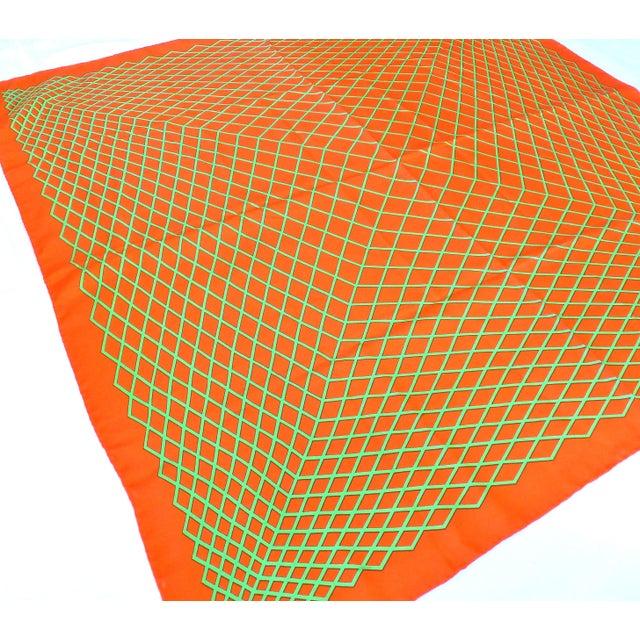 Image of Op Art Silk Scarf by Anuszkiewicz