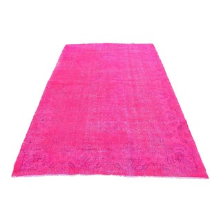 Turkish Pink Anatolian Rug - 5′5″ × 8′10″