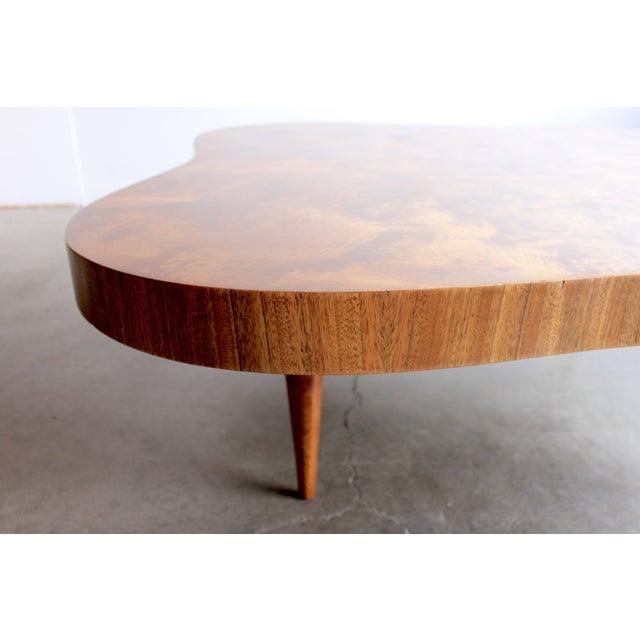 Gilbert Rohde Burl Surrealist 'Cloud' Coffee Table - Image 5 of 11