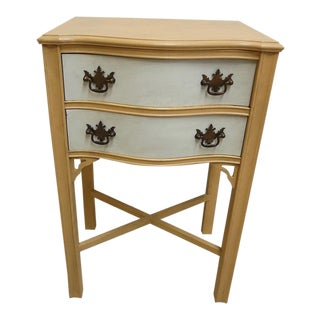 Antique Chippendale High Nightstand