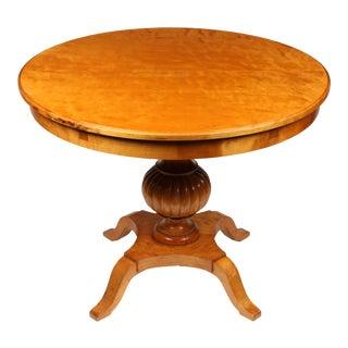 Vintage Biedermeier-Style Cocktail Table