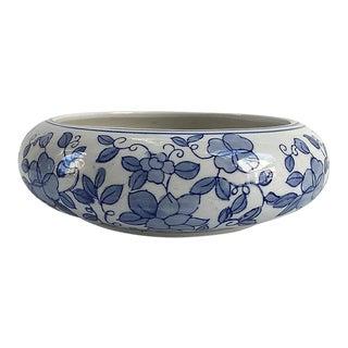Vintage Chinese Porcelain Lotus Flowering Bowl