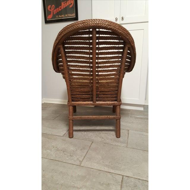 Ralph Lauren Wicker Chair - Image 5 of 6