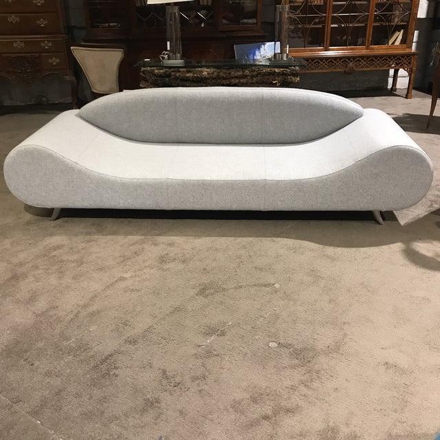 Light Gray Modern Concept Sofa - Image 2 of 6