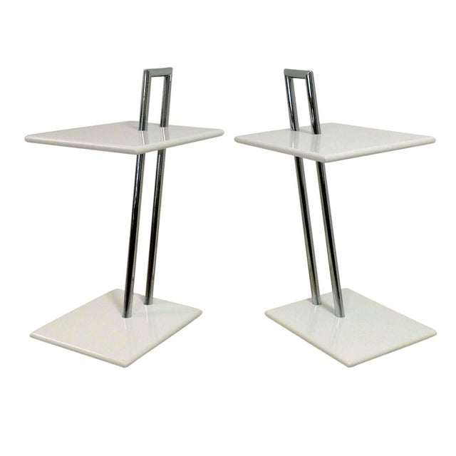 Vintage Eileen Gray Occasional Tables - A Pair - Image 1 of 6