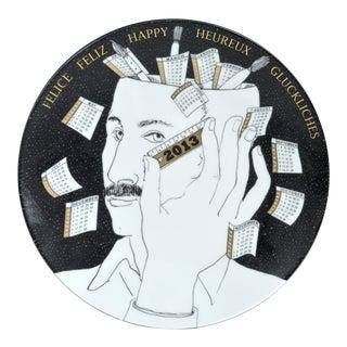 Fornasetti Calendar Plate for 2013