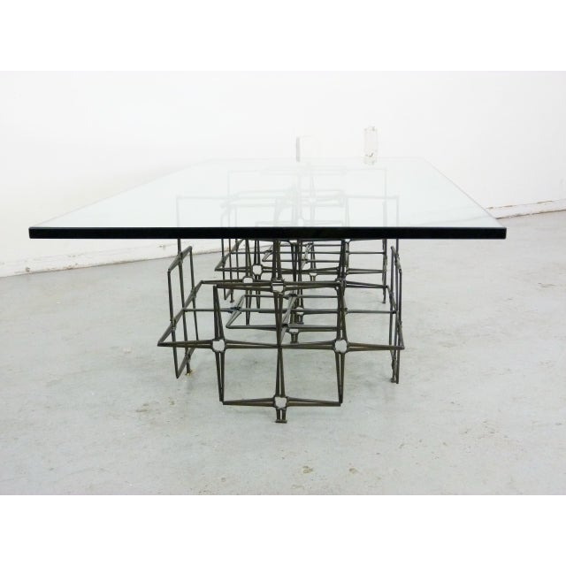 Studio Crafted Nail Base Brutalist Coffee Table - Image 4 of 7