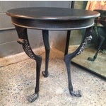 Image of Donatella Side Table in Hand Rubbed Black