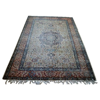 Antique Persian Area Rug - 8′4″ × 12′9″