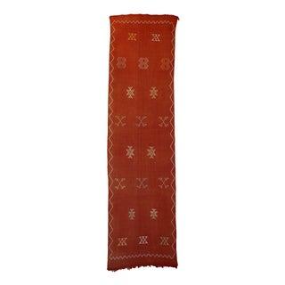 """Vintage Moroccan Cactus Silk - 2'4"""" X 8'10"""""""