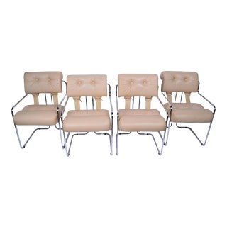 Pace Collection Dining Chairs Italy Set of 4