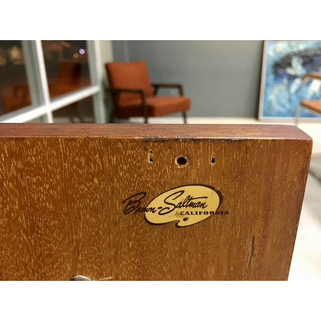 Brown Saltman Mid-Century Dresser Buffet Credenza - Image 8 of 11