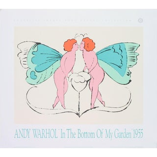 Andy Warhol-Page from In the Bottom of My Garden-1989 Poster