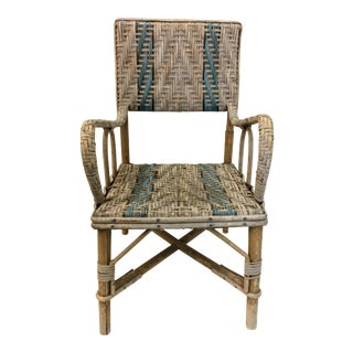 French Wicker Child's Chair