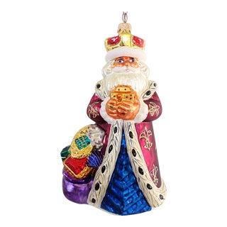 Christopher Radko Royal Santa Ornament