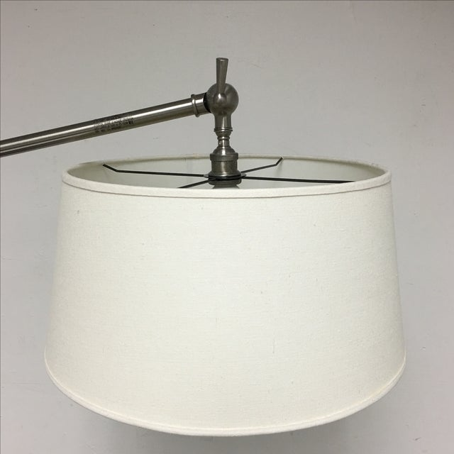 pottery barn chelsea floor lamp chairish. Black Bedroom Furniture Sets. Home Design Ideas