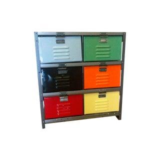 Metal Storage Locker Dresser