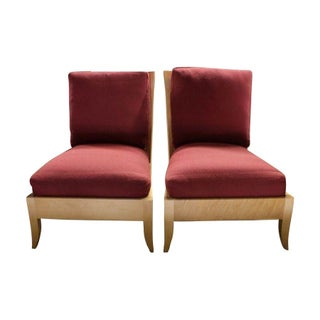 Dakota Jackson Ceylon Lounge Chairs - A Pair