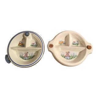 Bo Peep Baby Warming Bowls - A Pair