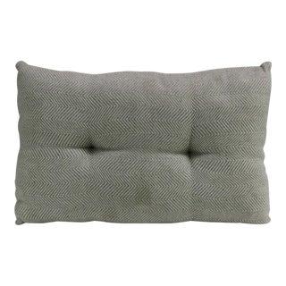 Grey Handloom Decorative Pillow
