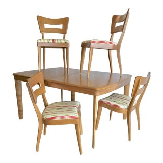 "Vintage Heywood-Wakefield Mid Century Modern ""Dogbone"" Dining Set"