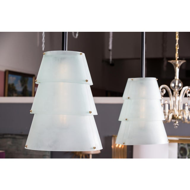 French Modernist Lucite Lanterns- A Pair - Image 5 of 10