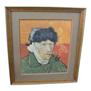 Framed Van Gogh Silk Self Portrait