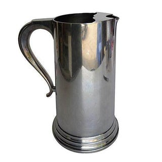 Mid-Century Silver Plated Pitcher