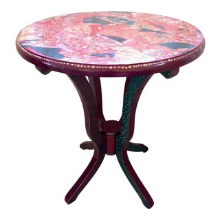 Fancy Pants Decoupage Table