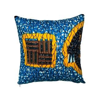 Sunstone African Dutch Wax Pillow Covers - A Pair