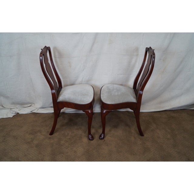 Hickory 18th Century Style Dining Chairs - S/6 - Image 6 of 10