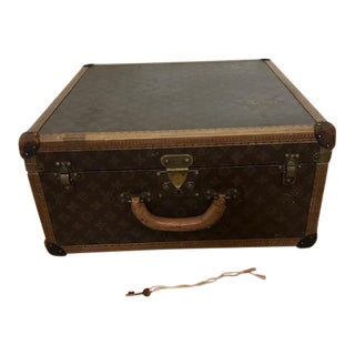 Vintage Louis Vuitton Hard-Sided Alzer Suitcase, C. 1920s
