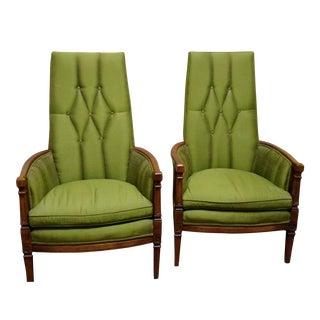 Mid Century Fairfield Chairs - a Pair