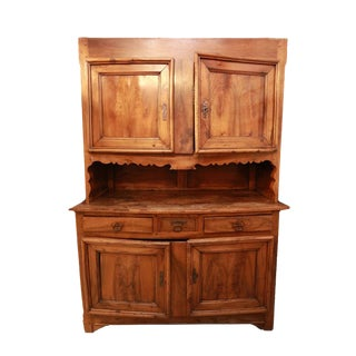 Antique Country French Chestnut Buffet