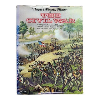 """Harper's Pictorial History of the Civil War"" Vintage 1977 Book"