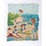 Image of Rochelle Steiner Lithograph - Painting with Sand