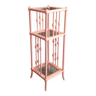 Soft Coral 3 Shelf Display Stand