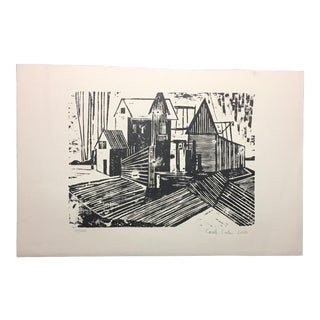 Woodblock Print Carole Cole Limited-Edition, 2005