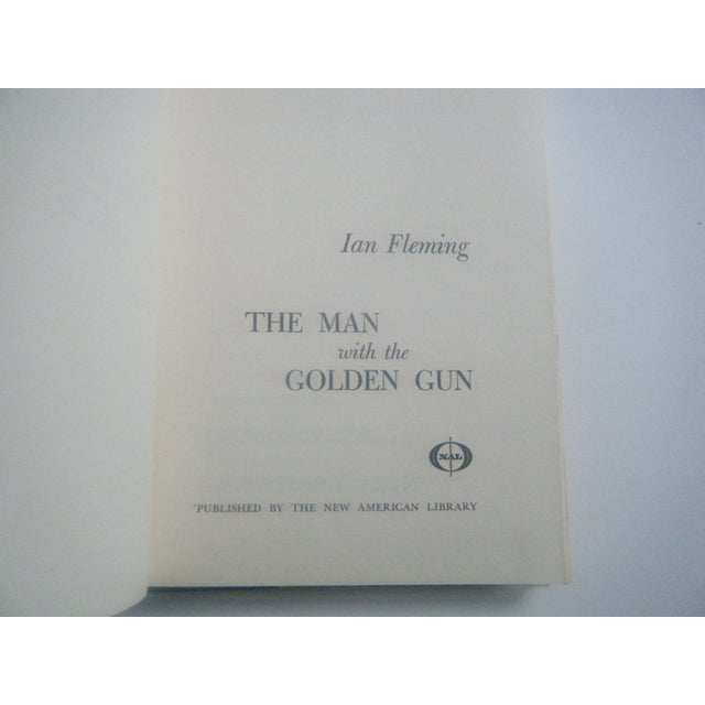Image of The Man With the Golden Gun, 1965 James Bond Book