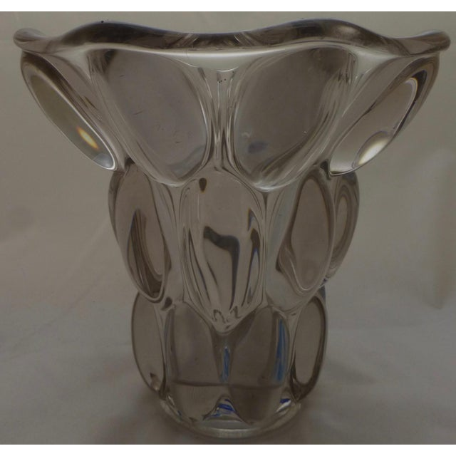 Mid-Century Modern Bubble Glass Vase - Image 10 of 11