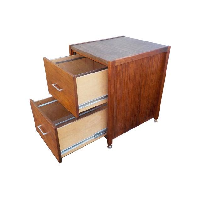 Mid Century Modern Minimalist Wood Filing Cabinet Chairish