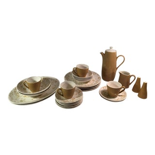 Sheffield Golden Meadow Ironstone Set - 30 Pieces