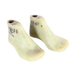 Italian Cobbler Size 19 Baby Shoe Molds - A Pair