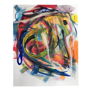 "Jessalin Beutler ""No. 94"" Acrylic Painting"